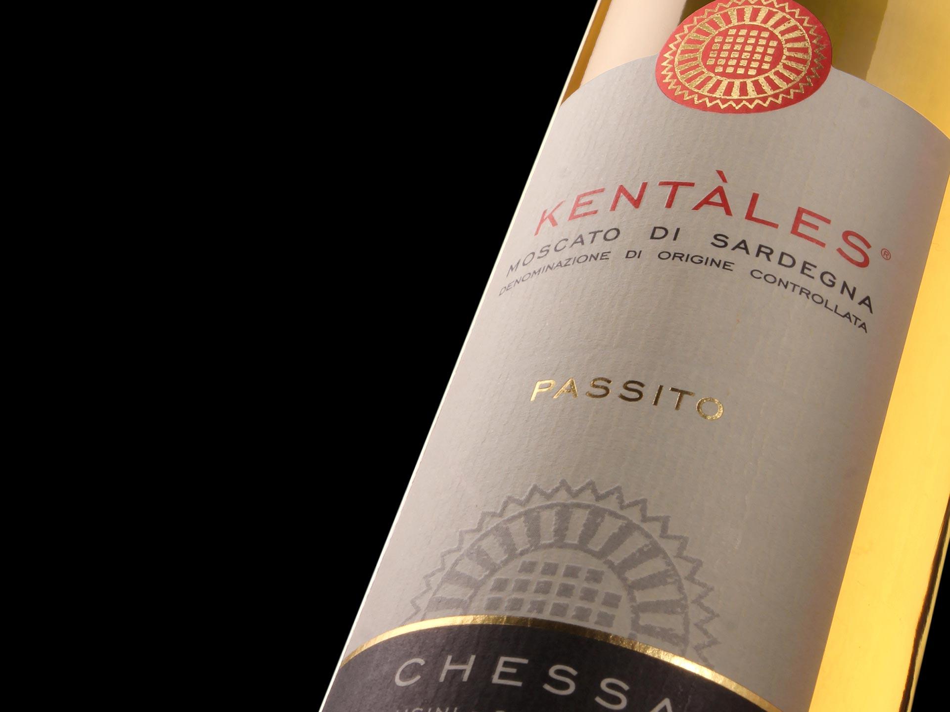 Progettazione etichetta vino - Kentàles - Cantine Chessa