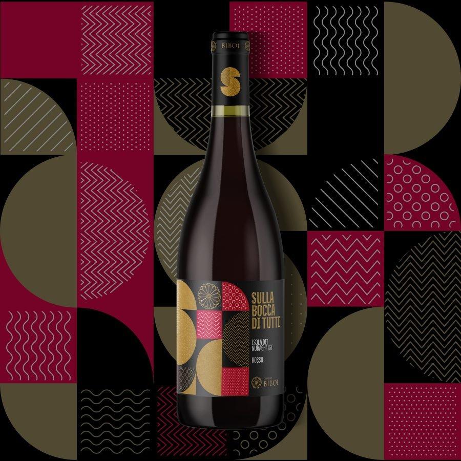 Etichette vini Biboi - RedfishAdv