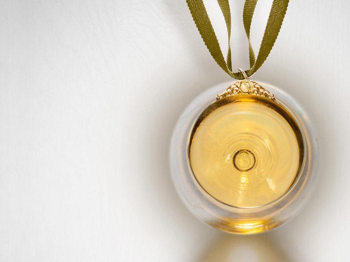 Pubblicità vino Selenu premio Mundus Vini