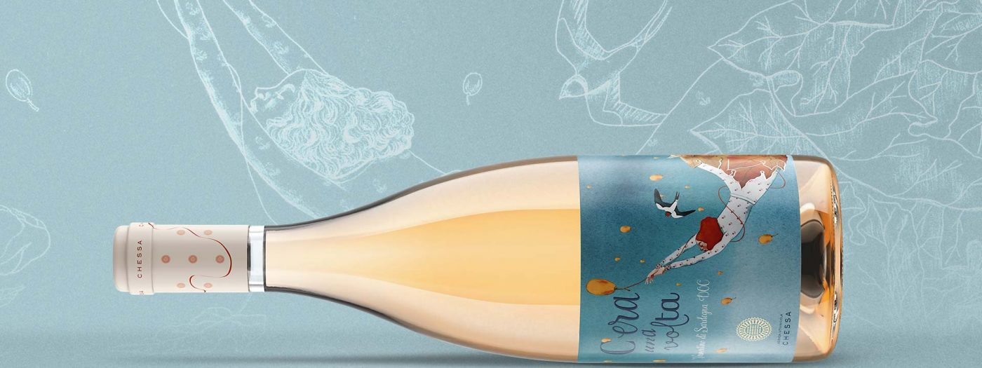 Design etichetta vino C'era una Volta