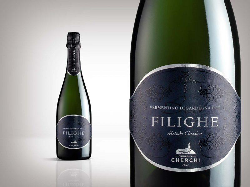 Studio etichetta vino Filighe - Vinicola Cherchi