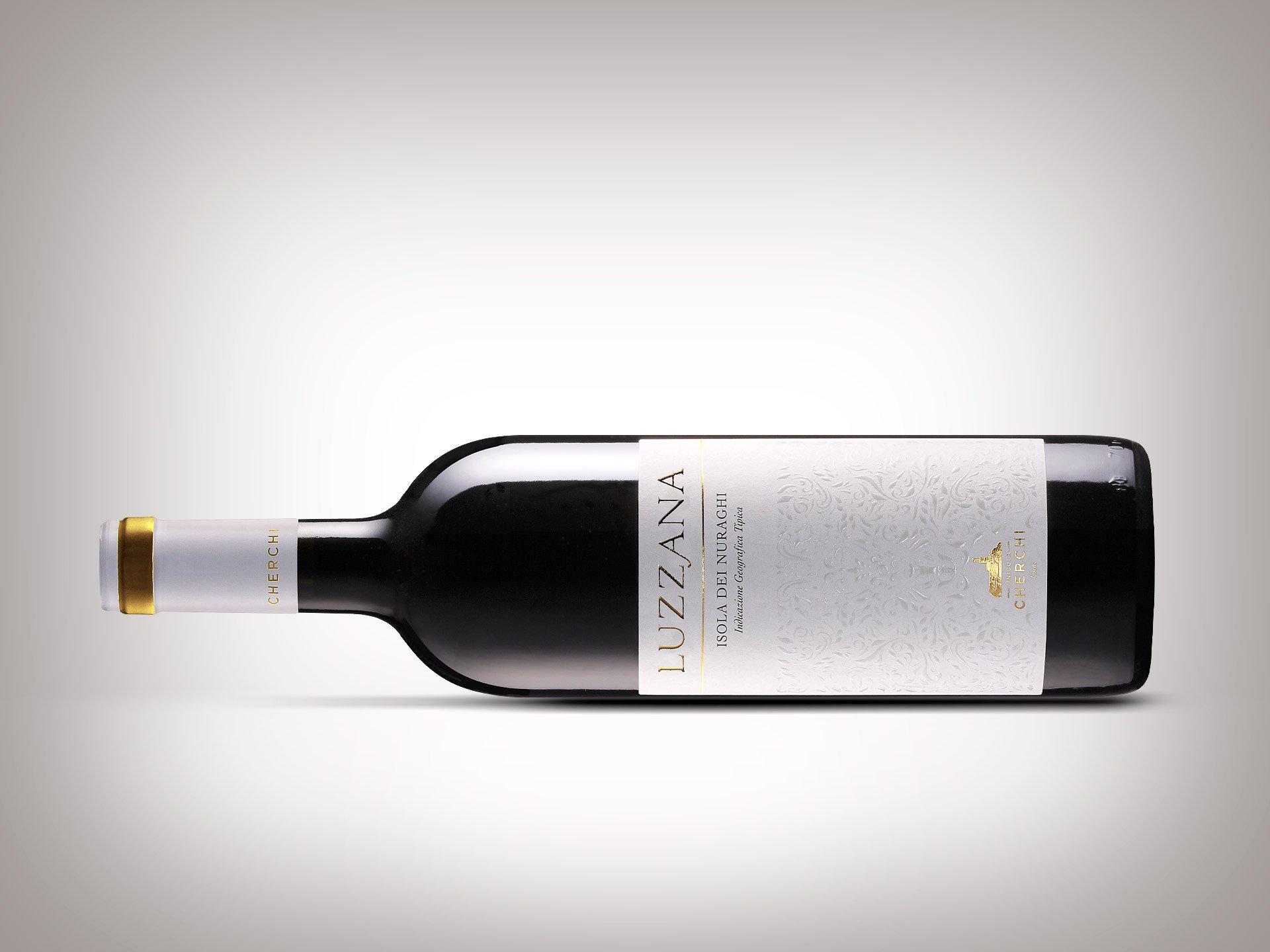 Progettazione etichetta vino Luzzana