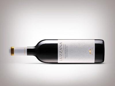 Progetto grafico etichetta vino Luzzana