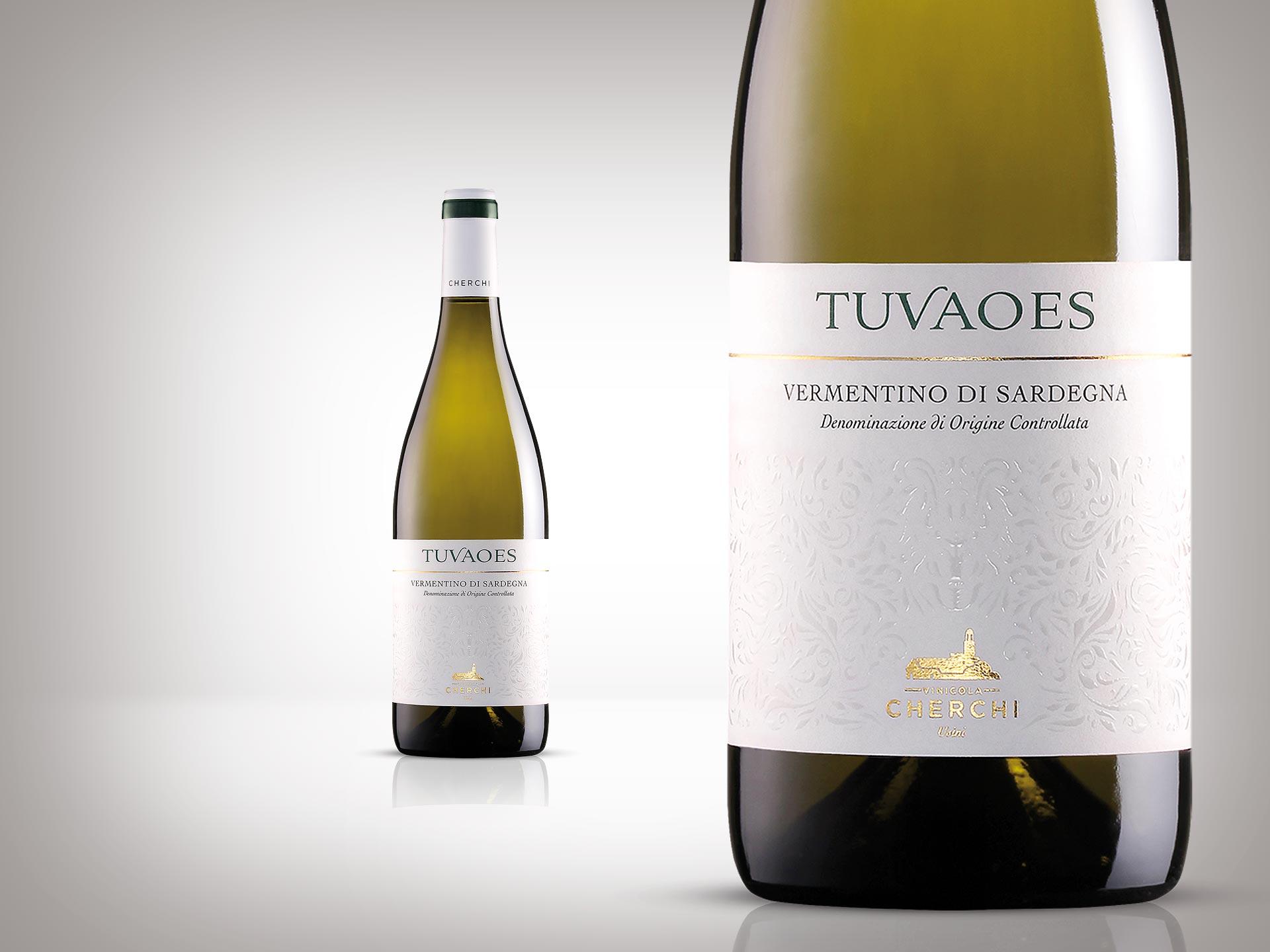 Design dell'etichetta del vino Tuvaoes