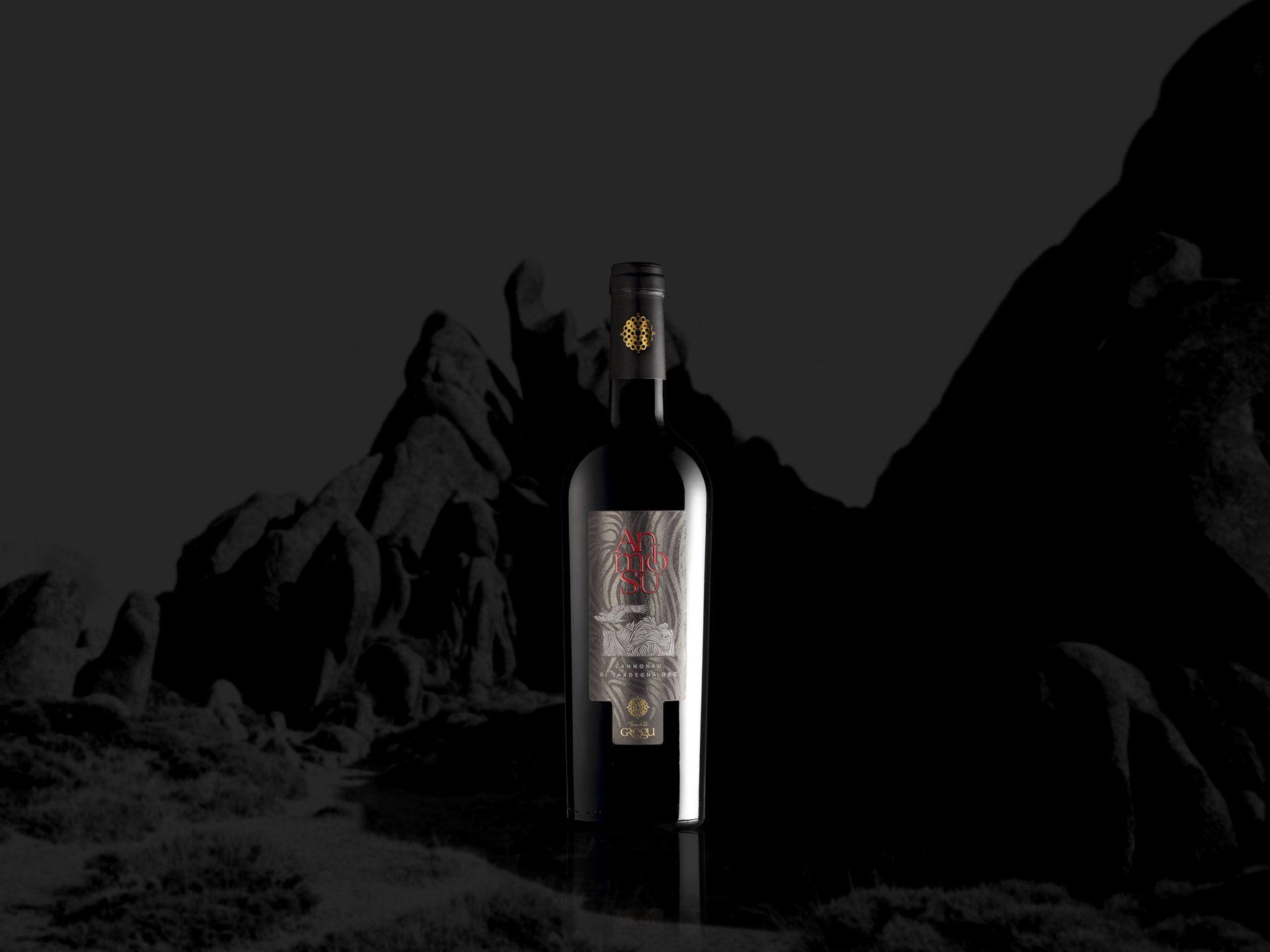 Etichetta vino Animosu - Tenute Gregu