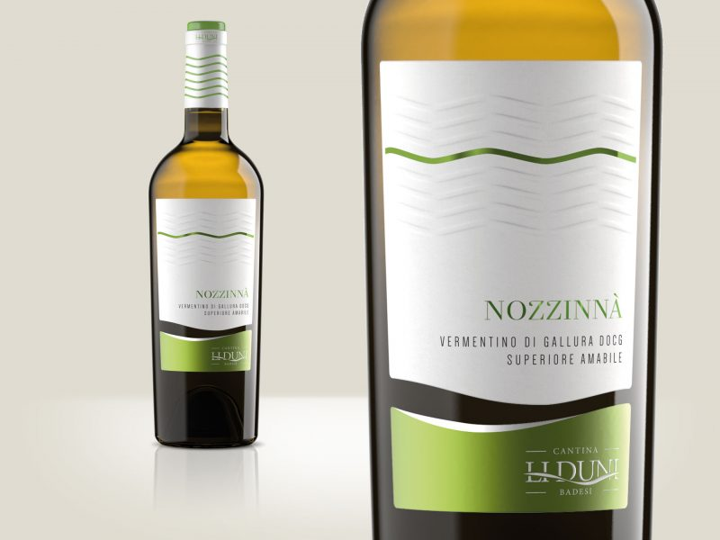 Progettazione etichetta vino Nozzinnà