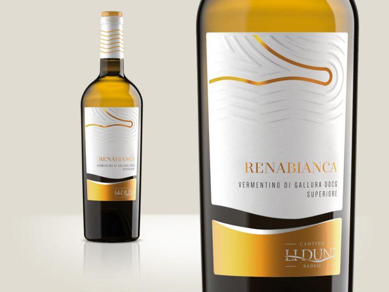 Progettazione etichetta vino Renabianca