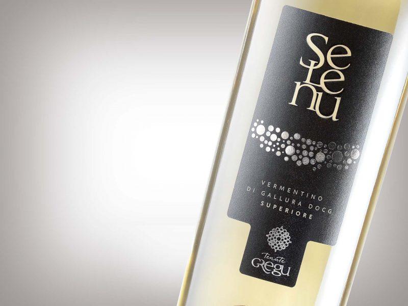 Etichetta vino Selenu - Tenute Gregu