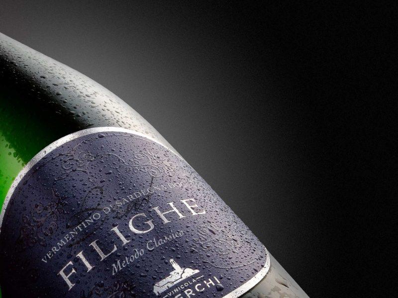 Studio grafico etichetta vino