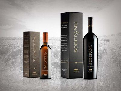 Packaging design vini Linea Speciali - Vinicola Cherchi