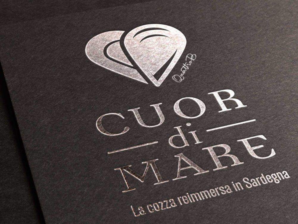 Progettazione logo prodotto Cuor di Mare QuattroB