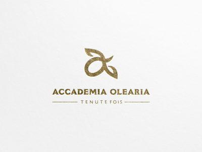 Studio e progettazione logo Accademia Olearia