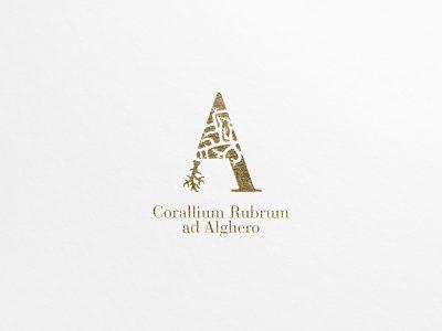Studio e progettazione logo Corallo di Alghero