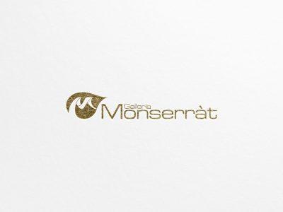 Studio e progettazione logo Galleria Monserrat