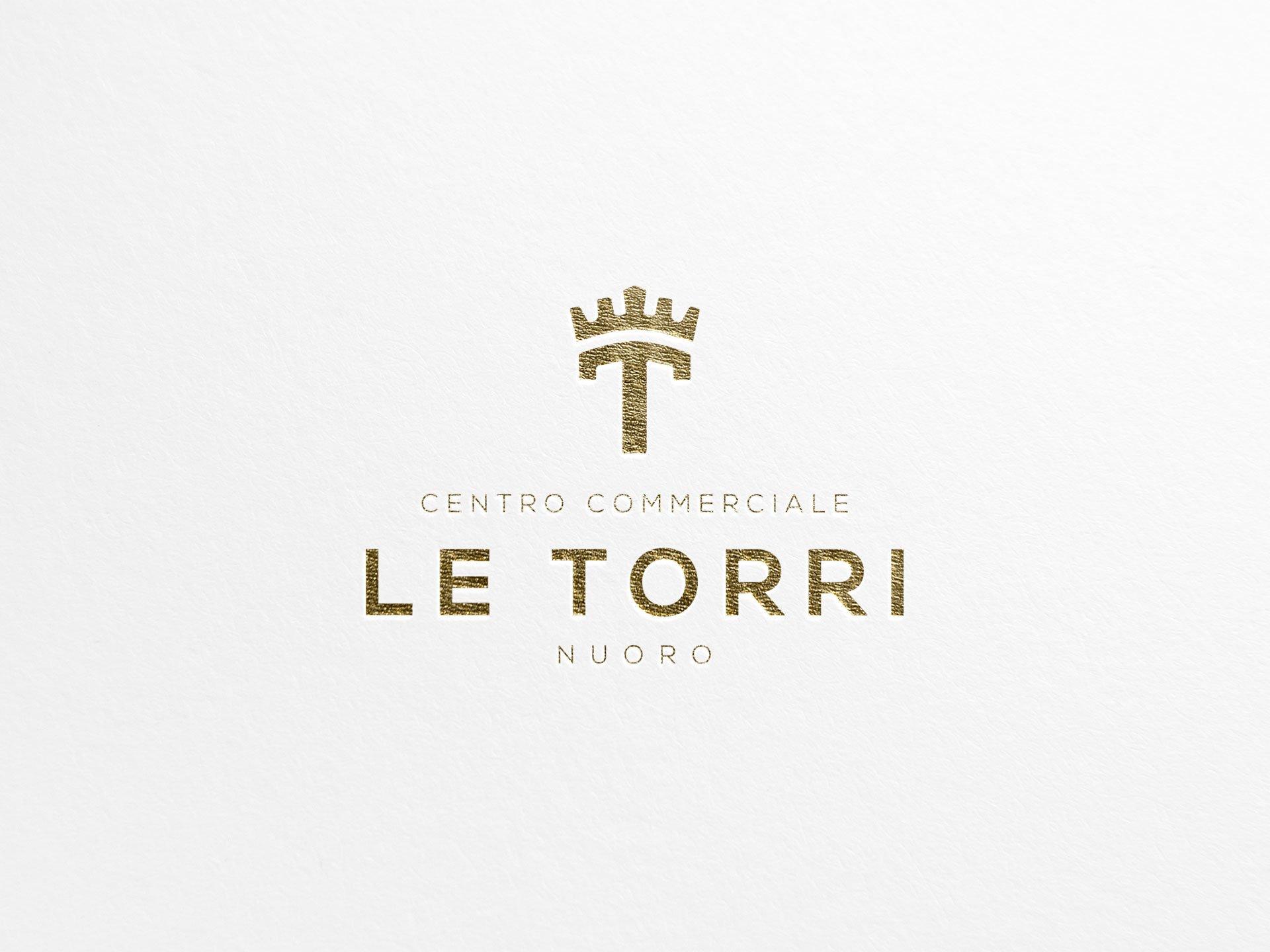 Studio e progettazione logo Centro Commerciale Le Torri
