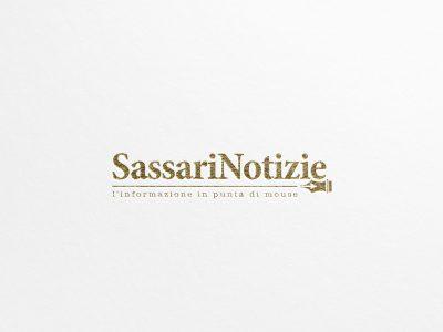 Studio e progettazione logo SassariNotizie