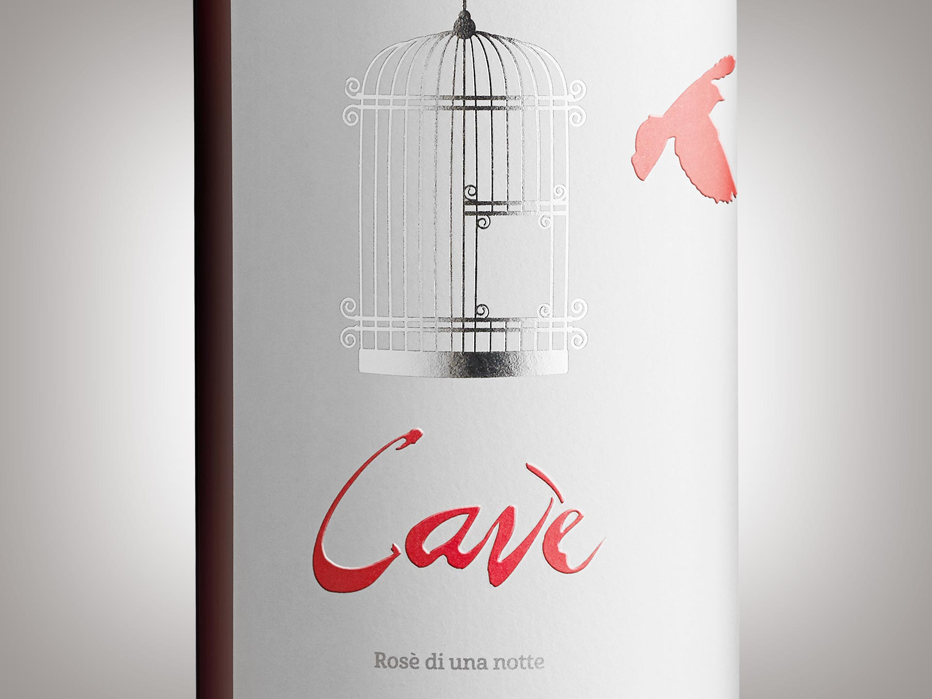 Packaging design etichetta Cavè Tenute Olbios