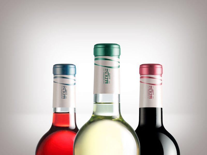 Progetto di restyling vini Cantina li Duni