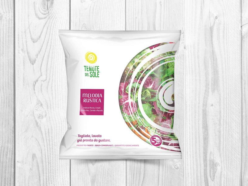 Packaging design insalate in busta - Mista