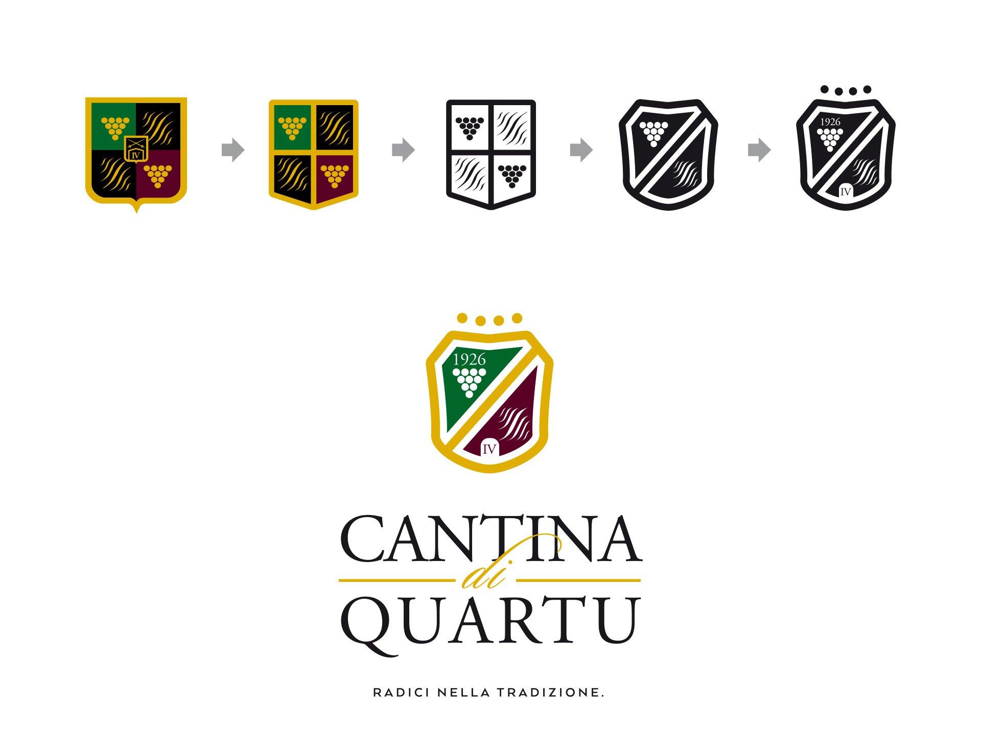 Restyling logo Cantina di Quartu