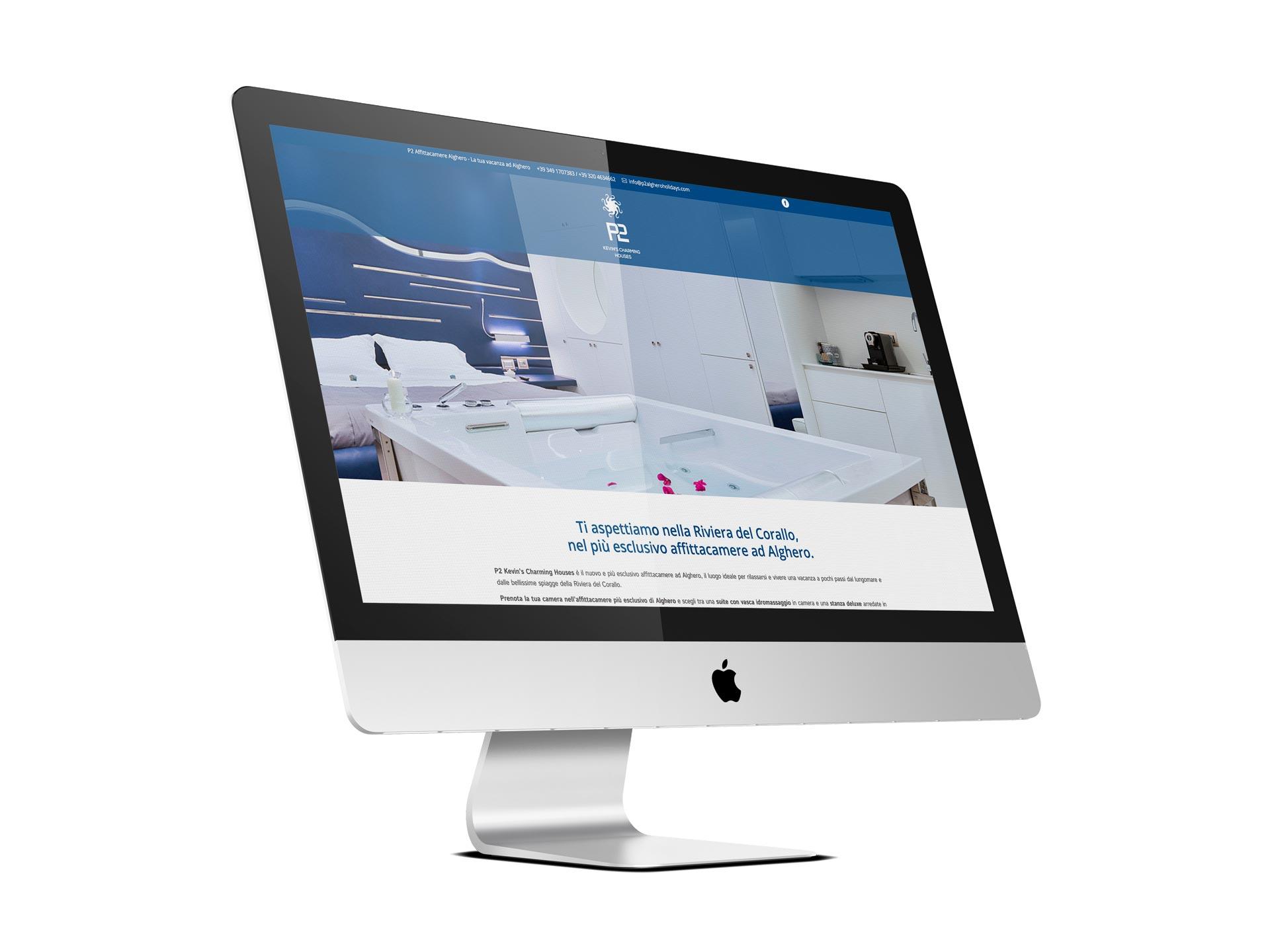 Realizzazione sito P2 Charming House - RedfishAdv