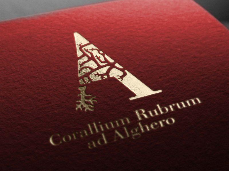 Studio del logo per il Corallo di Alghero