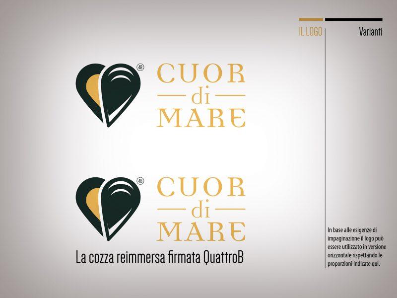 Varianti logo Cuor di Mare